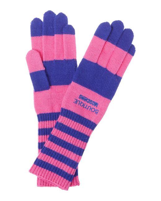Boutique Moschino | Blue Stripe Knit Wool | Lyst