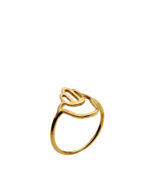 Aonie | Metallic Ring | Lyst