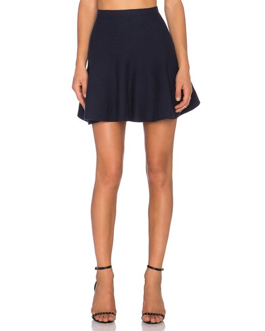 1.STATE | Black Flounce Mini Skirt | Lyst