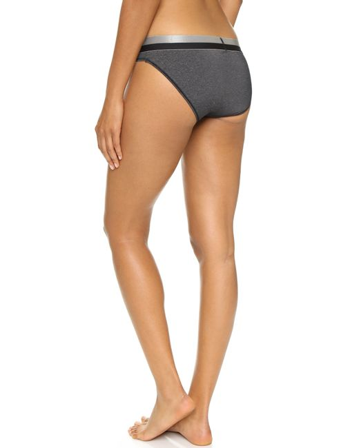 Calvin Klein | Black Magnetic Force Bikini Panties | Lyst