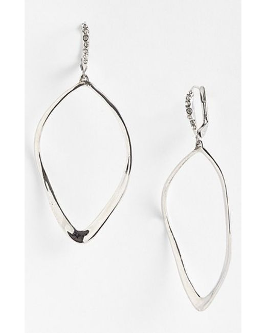 Alexis Bittar | Metallic 'miss Havisham' Open Drop Earrings | Lyst