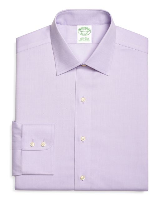 Brooks Brothers | Purple Non-iron Milano Fit Royal Oxford Dress Shirt for Men | Lyst
