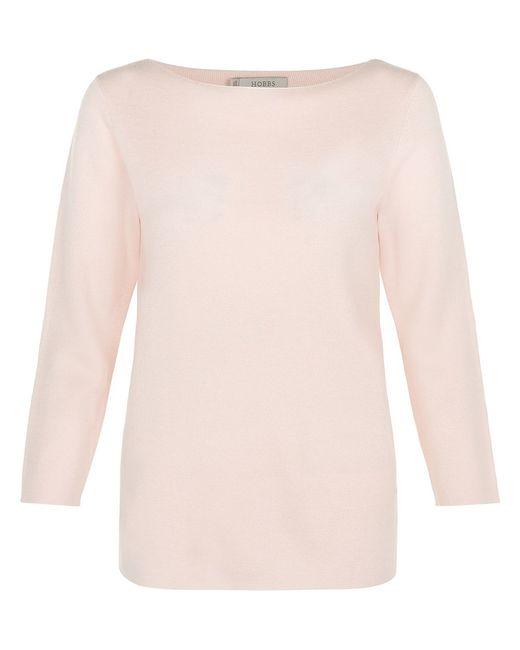 Hobbs | Pink Cesci Sweater | Lyst