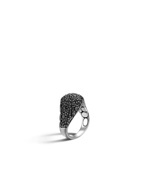 John Hardy | Kali Ring With Black Sapphire | Lyst
