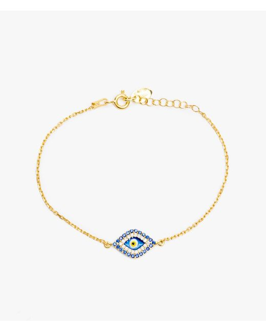 Azalea | Yellow Big Eye Bracelet | Lyst