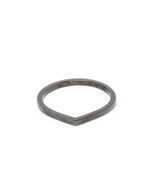 Repossi | 18k Black Gold Antifer Ring | Lyst