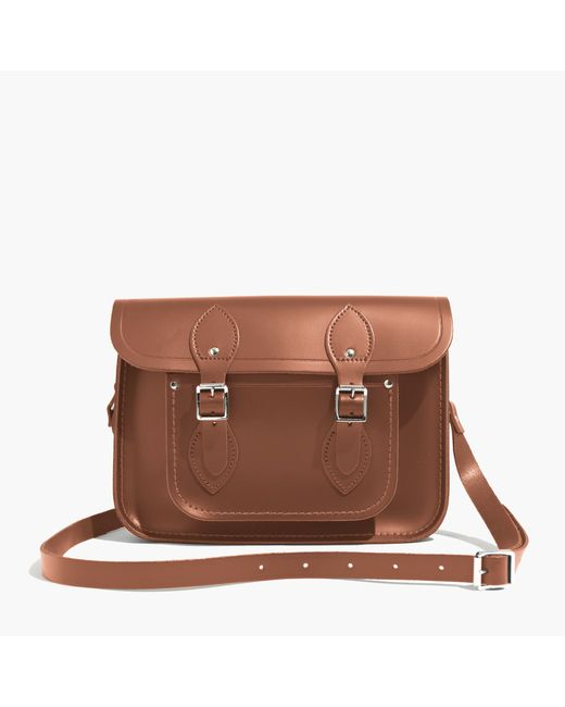 "Madewell | Brown The Cambridge Satchel Company® 11"" Classic Satchel Bag 
