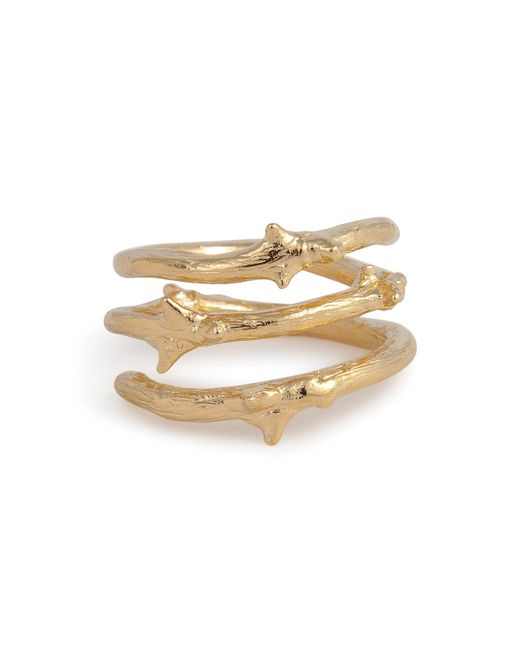 Aurelie Bidermann | Metallic Aurélie Bidermann Rosebud Ring - Gold | Lyst