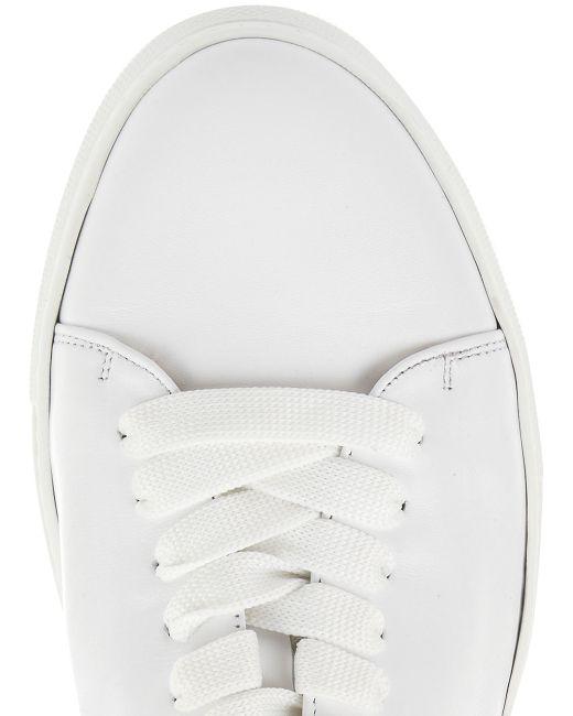 Minna Parikka | White Leather Bunny Ears High Top Trainers | Lyst