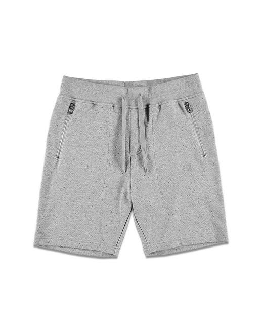 Forever 21 | Gray Speckled Zip-pocket Sweatshorts for Men | Lyst