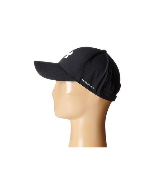 Under Armour   Black Ua Driver Adjustable Golf Cap for Men   Lyst