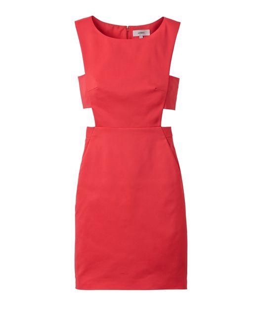 Laila Azhar   Red Cutout Dress   Lyst