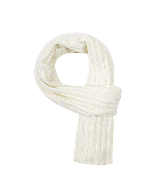 Baukjen | White Chunky Rib Scarf | Lyst