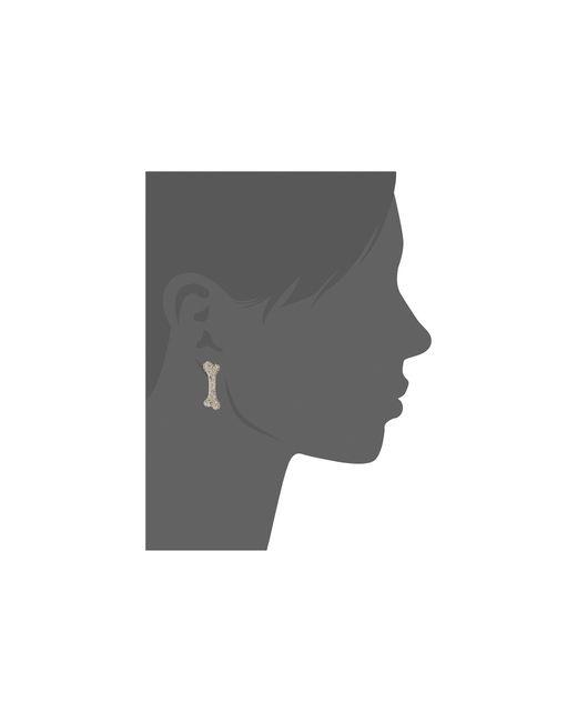 Vivienne Westwood | Metallic Bone Large Earrings | Lyst