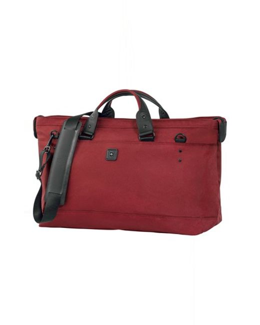 Victorinox | Red Victorinox Swiss Army 'lexicon' Duffel Bag for Men | Lyst