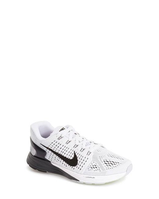 Nike   White 'Lunarglide 7' Running Shoe   Lyst