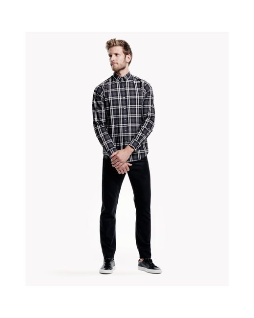 Theory | Multicolor Cotton Plaid Shirt for Men | Lyst