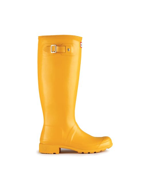 Hunter | Wellington - Yellow Rubber Rain Boot | Lyst