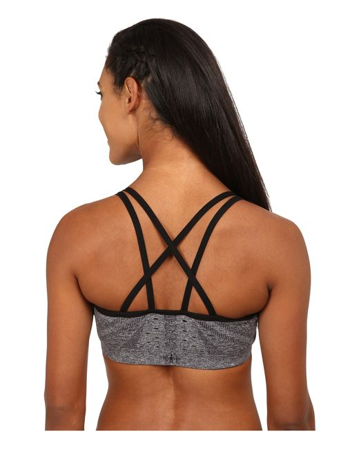 Smartwool | Gray Phd® Seamless Double Strappy Bra | Lyst