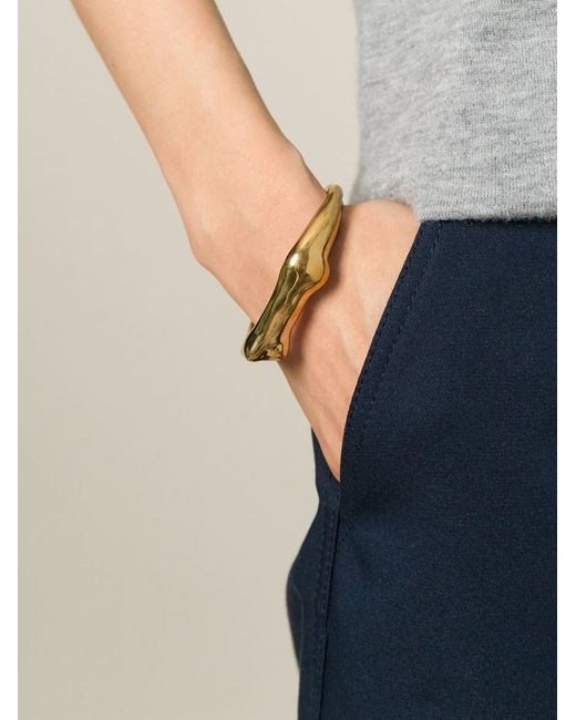 Aurelie Bidermann | Metallic 'body' Bracelet | Lyst