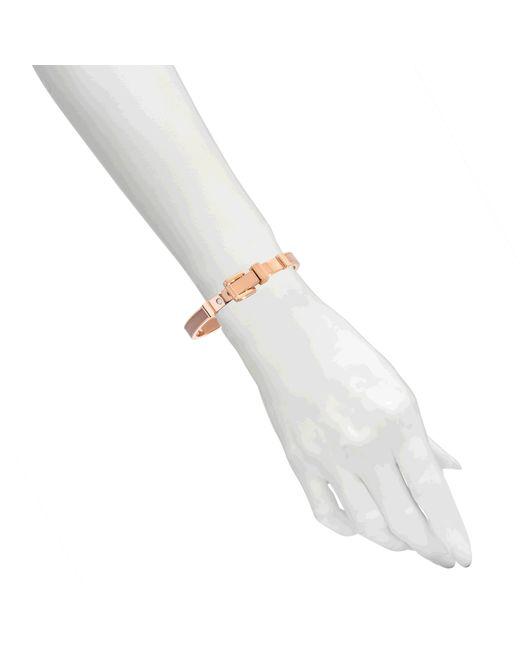 michael michael kors armband rose gold blush in pink lyst. Black Bedroom Furniture Sets. Home Design Ideas
