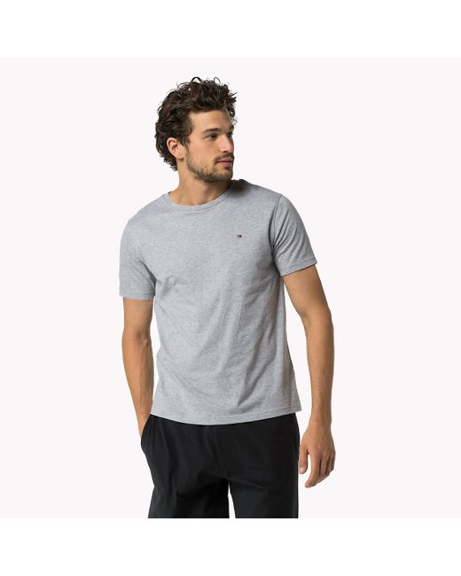 Tommy Hilfiger | Gray Icon T-shirt for Men | Lyst