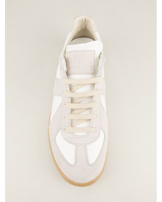 Maison Margiela | White 'replica' Sneakers | Lyst