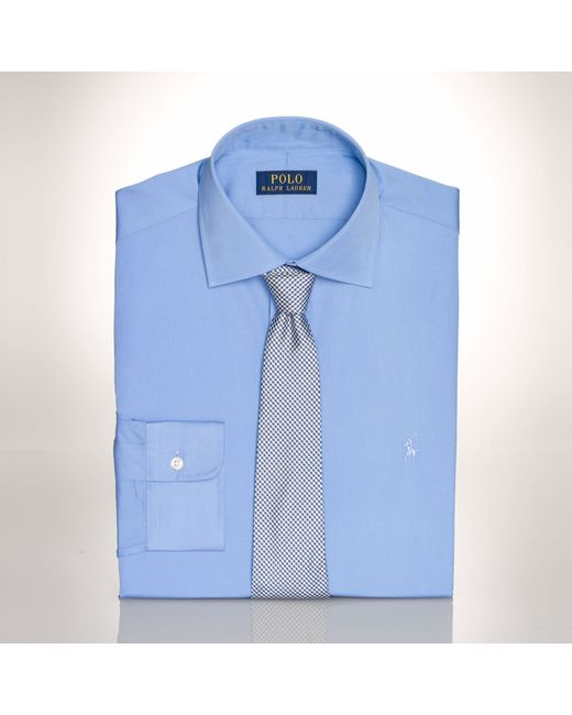 Polo Ralph Lauren | Blue Slim-fit Poplin Regent Shirt for Men | Lyst
