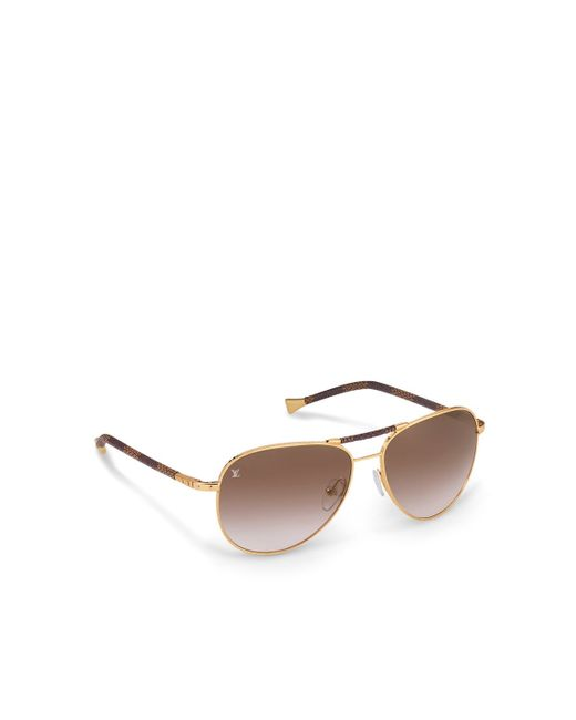 7811bf2c999 Louis Vuitton Womens Aviator Sunglasses