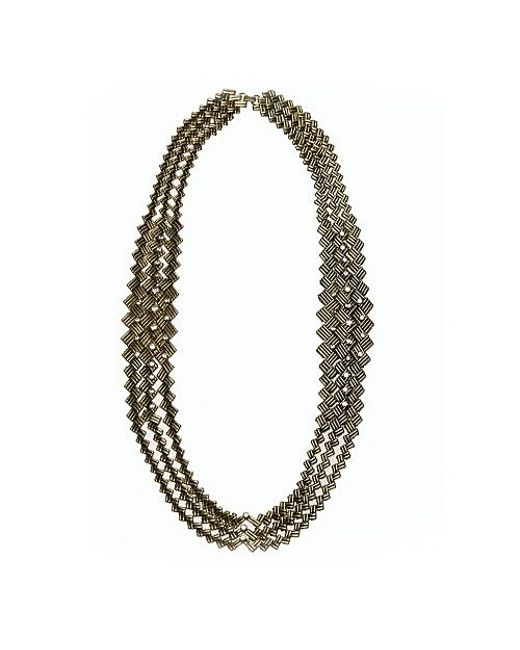 Nicole Romano | Metallic Aurelio Necklace | Lyst