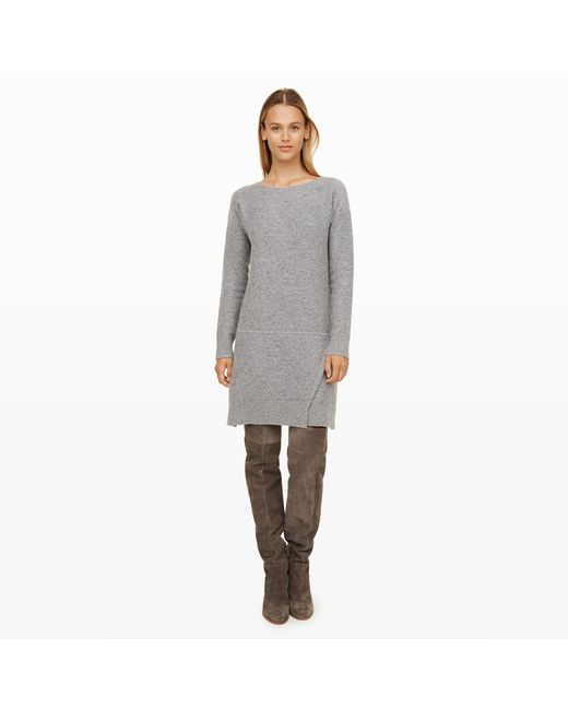 Club Monaco | Gray Jozie Sweater Dress | Lyst