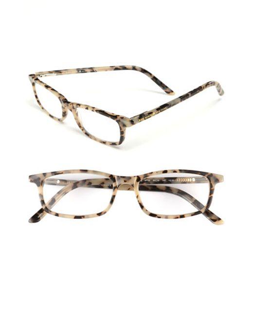 Kate Spade Tortoise Shell Eyeglass Frames : Kate spade jodie 48mm Reading Glasses - Milky Tortoise ...