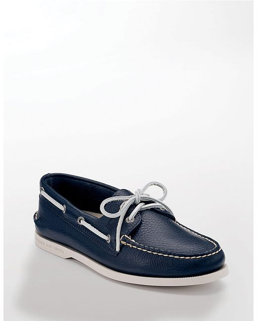 Sperry Top-Sider | Blue Authentic Original 2-eye Boat Shoes for Men | Lyst