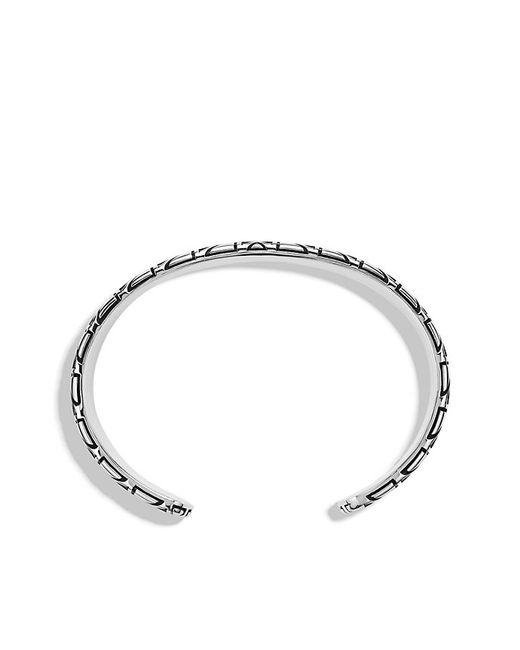 David Yurman | Black Frontier Cuff Bracelet With Nevada Silk Stone for Men | Lyst