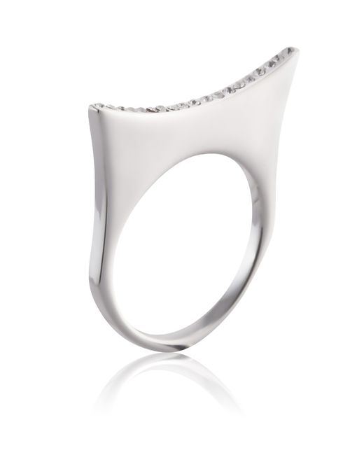 Yael Salomon | Metallic Greta 07 Silver Ring | Lyst