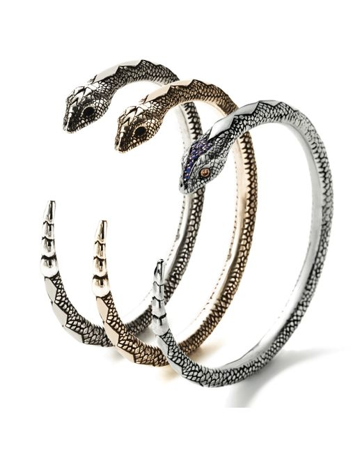 Pamela Love | Metallic Serpent Bangle - Bronze | Lyst