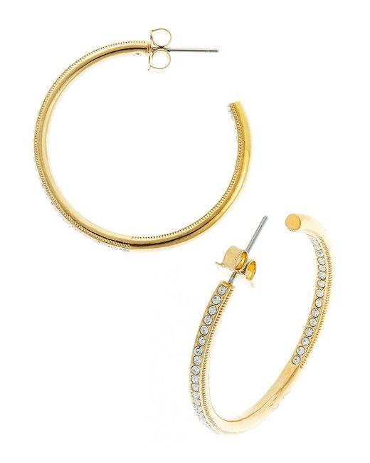 Nadri | Metallic Pav Drop Statement Earrings | Lyst