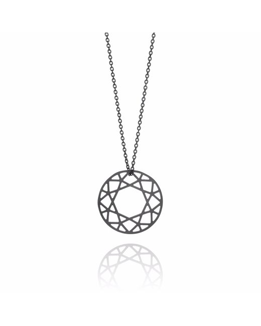 Myia Bonner   Medium Black Brilliant Diamond Necklace   Lyst