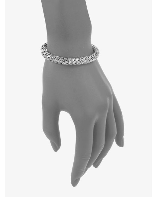 John Hardy | Metallic Kali Sterling Silver Medium Chain Bracelet | Lyst