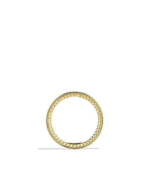 David Yurman | Metallic Dy Eden Eternity Wedding Band With Diamonds In 18k Gold, 2.2mm | Lyst