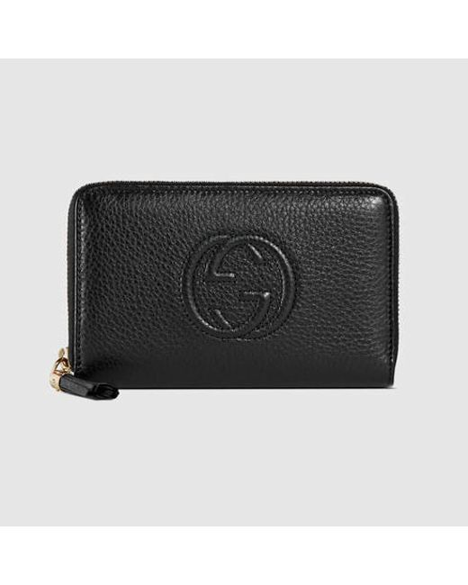 46548738cad5 Gucci Zip Around Wallet Soho | Stanford Center for Opportunity ...