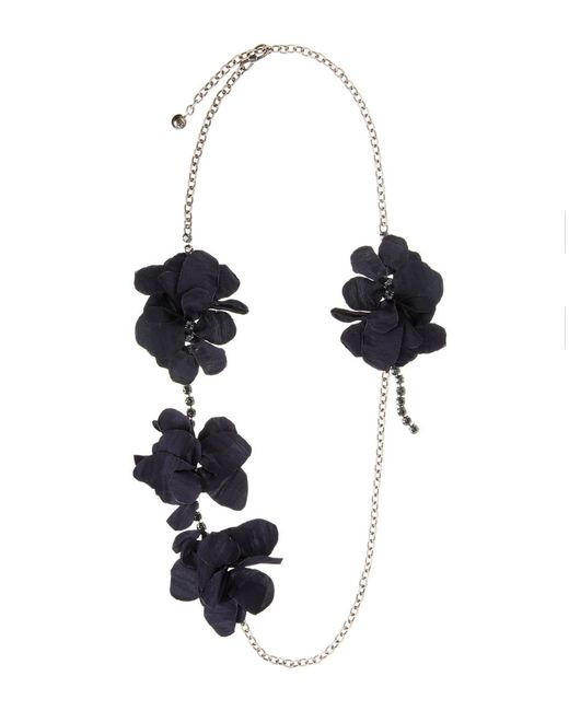 Lanvin | Blue Necklace | Lyst