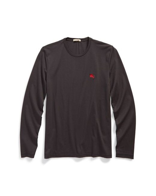 Burberry Brit | Black Newing Long Sleeve T-shirt for Men | Lyst