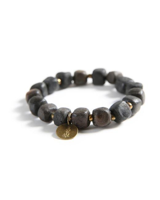 Michael Stars | Black 10mm Simbi Bracelet | Lyst