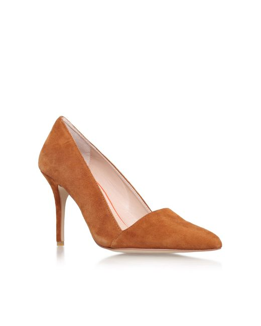 Carvela Kurt Geiger | Brown Able High Heel Court Shoes | Lyst