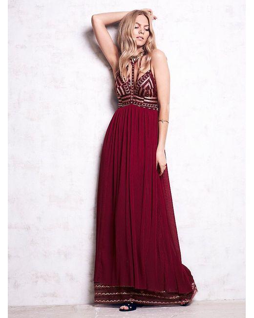 Free People | Purple Sacred Geometry Dress | Lyst