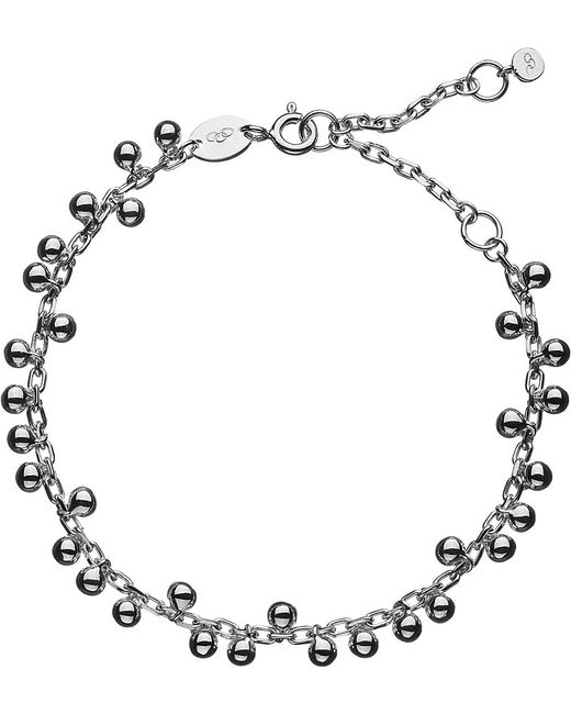 Links of London   Metallic Effervescence Bubble Sterling Silver Bracelet   Lyst