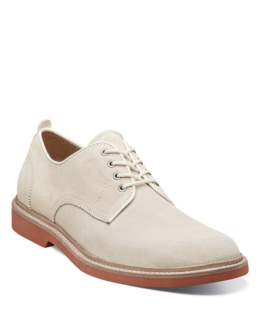 Florsheim | White Bucktown Suede Plain-toe Oxfords for Men | Lyst