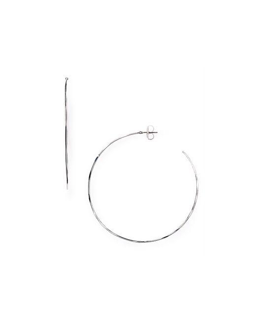 Robert Lee Morris | Metallic Large Hoop Earrings | Lyst