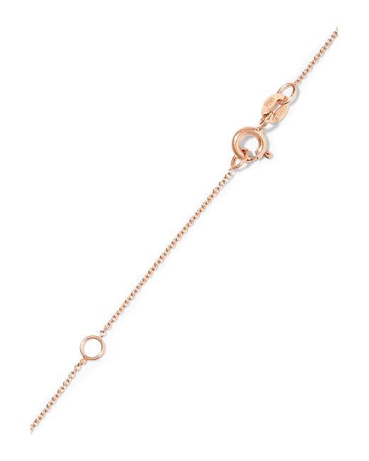 Diane Kordas | Pink Wow! 18-karat Rose Gold Diamond Necklace | Lyst